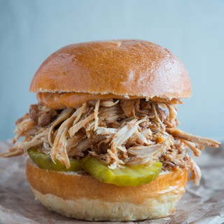 BBQ Pulled Chicken Sliders