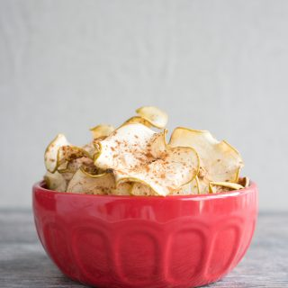 Cinnamon Spiced Apple Chips
