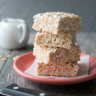 Cardamom Rice Krispie Treats