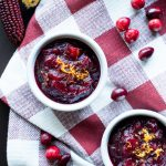 Whole Fruit Cranberry Sauce Orange Zest