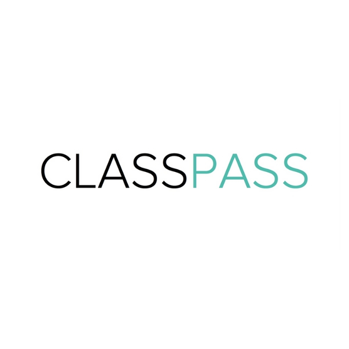 Class Pass gift card - black and blue logo