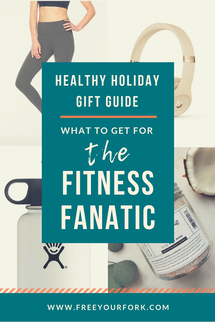FYF 2018 Healthy Holiday Gift Guide Pinterest Image