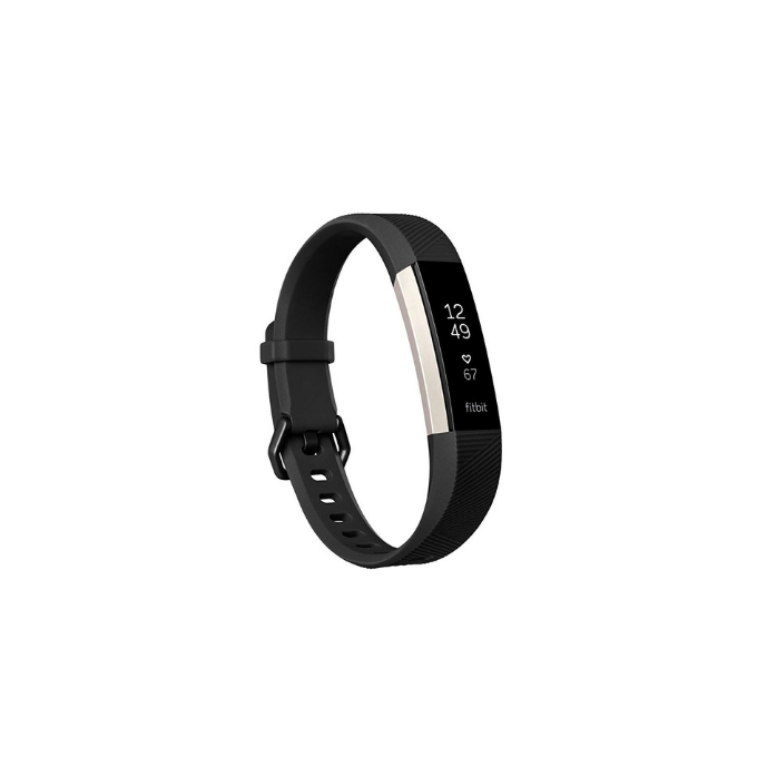 Fitbit Alta HR Black Fitness Tracker Band