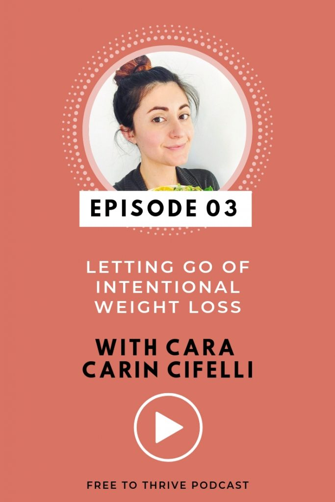 Cara Carin Cifelli Image for Free to Thrive Podcast episode 3