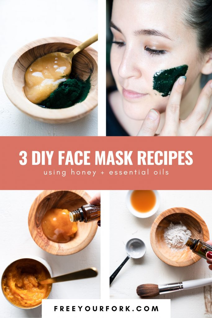 3 DIY Face Mask Recipes - Free Your Fork - Lauren Kenson