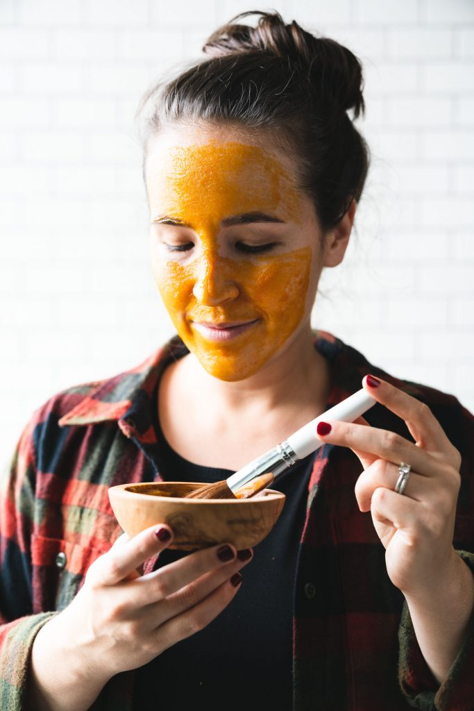 DIY Pumpkin Face Mask - Lauren Kenson - Holistic Health Coach - Free Your Fork