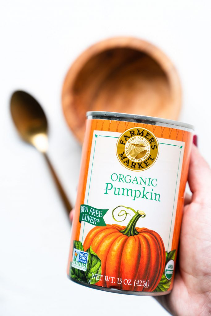 Canned Pumpkin - DIY Pumpkin Face Mask - free your fork